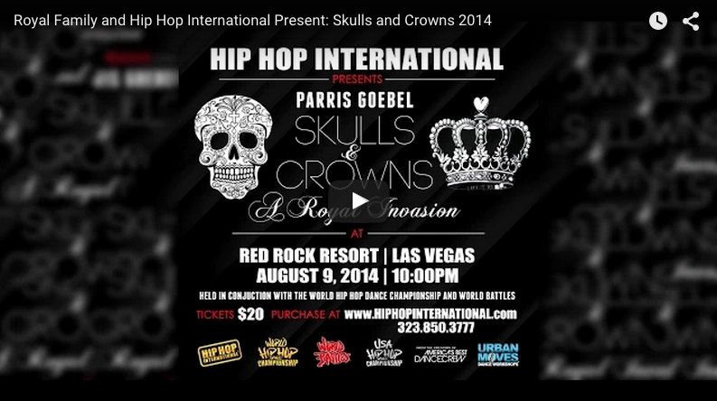 HHI PRESENTS: PARRIS GOEBEL – SKULLS & CROWNS – A ROYAL INVASION | AUG.9