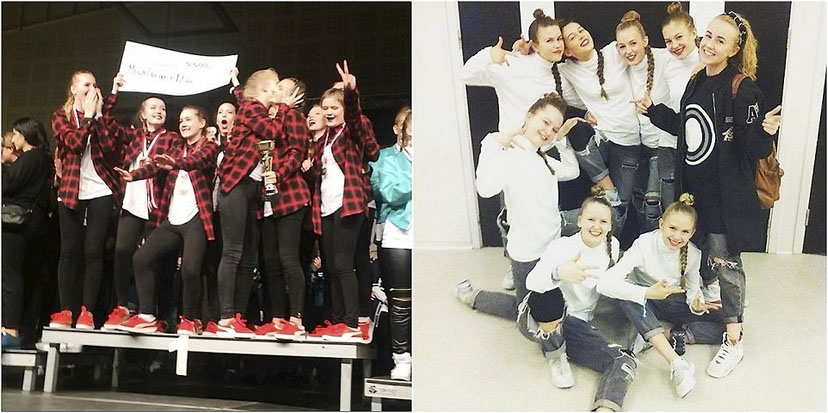 Popular dance school from Holte won DM in Hip Hop