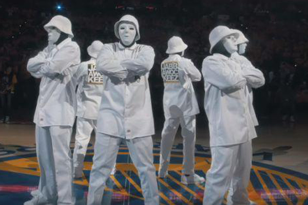 JABBAWOCKEEZ – VIDEO: Show de intermedio de la final de NBA se vuelve viral