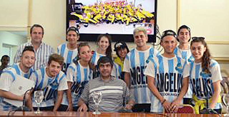 HHI ARGENTINA: Distinguieron al grupo Angelus