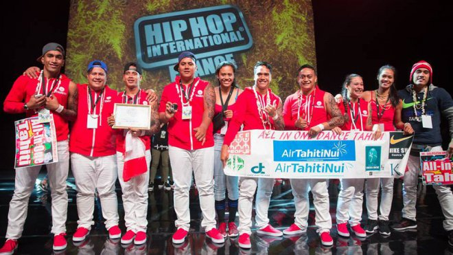 HHI FRANCE: Hip Hop : All-in-One Tahiti champion de France !