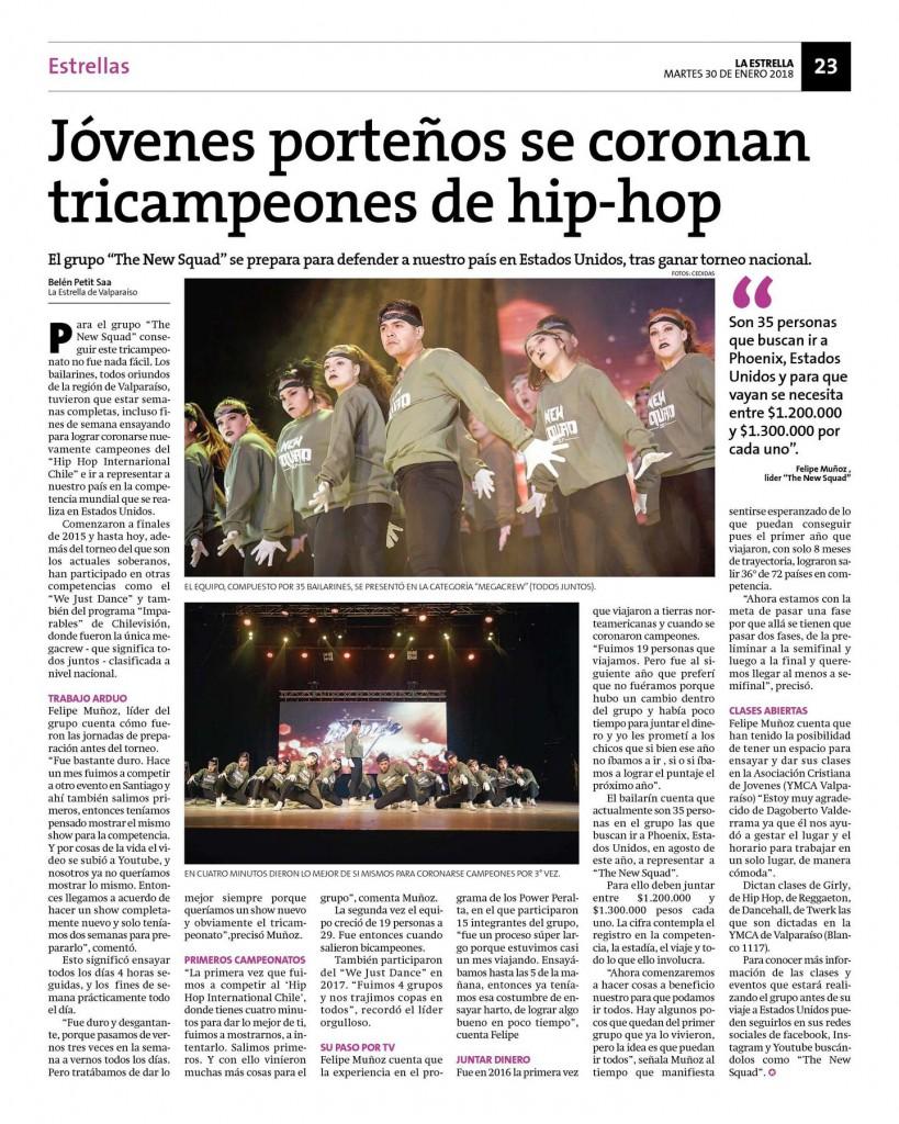 HHI Chile: Jóvenes porteños se coronan tricampeones de hip-hop