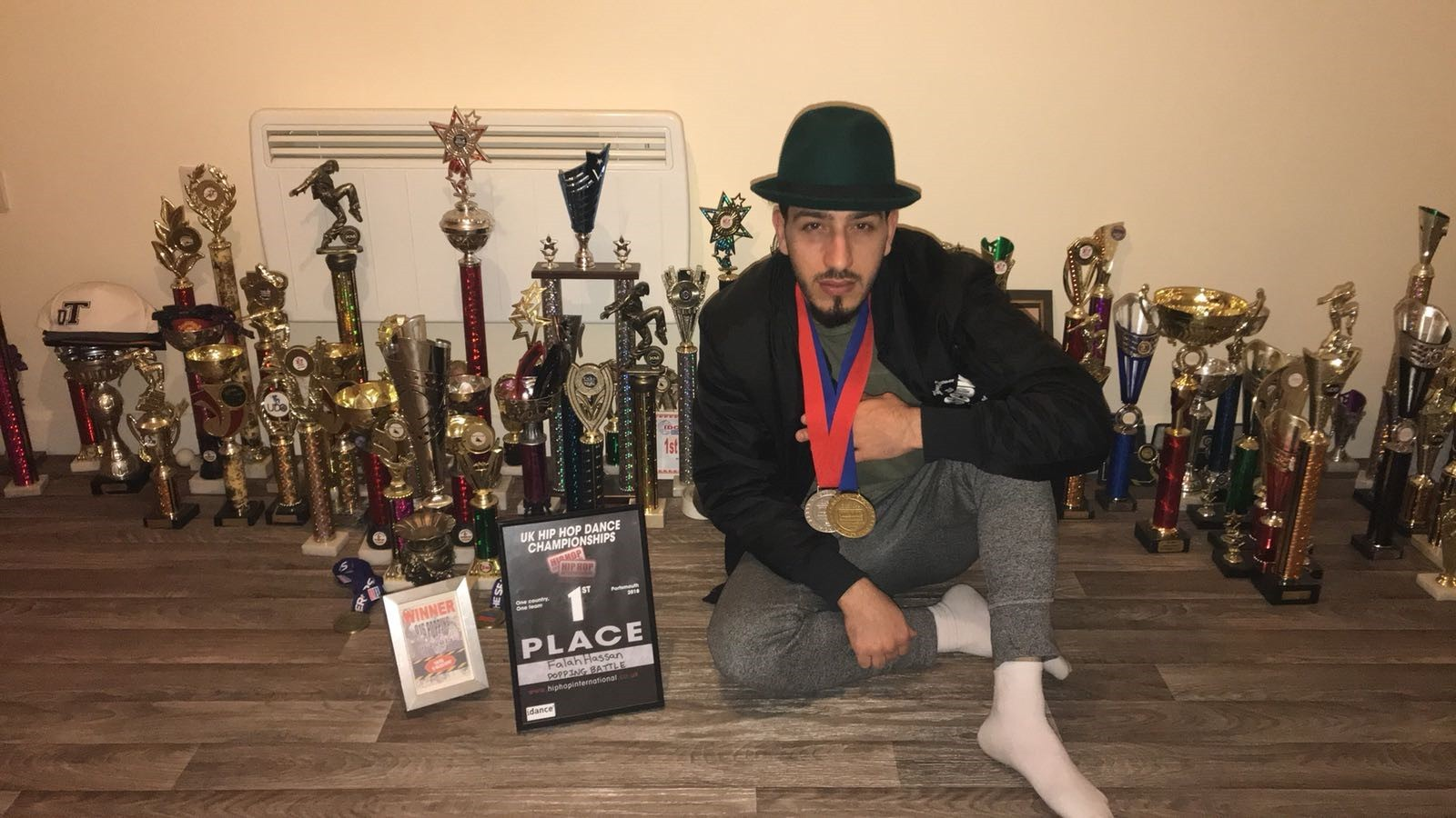 HHI UK: Poppin' Ron picks up gold in hip hop dance competition