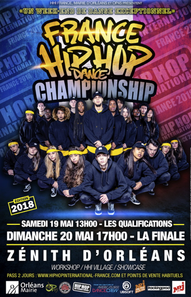 HHI FRANCE: LE HIP HOP INTERNATIONAL ARRIVE À ORLÉANS !