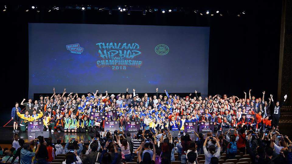 HHI THAILAND: ประกาศผลนักเต้น 12 ทีมสุดท้าย จากเวที Thailand Hip Hop Dance Championship 2018