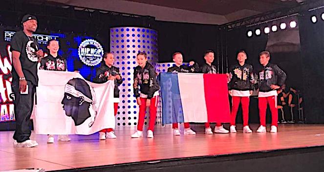 HHI FRANCE: Les jeunes corses d'Indépen'Danse 12èmes aux championnats du Monde de Hip Hop !