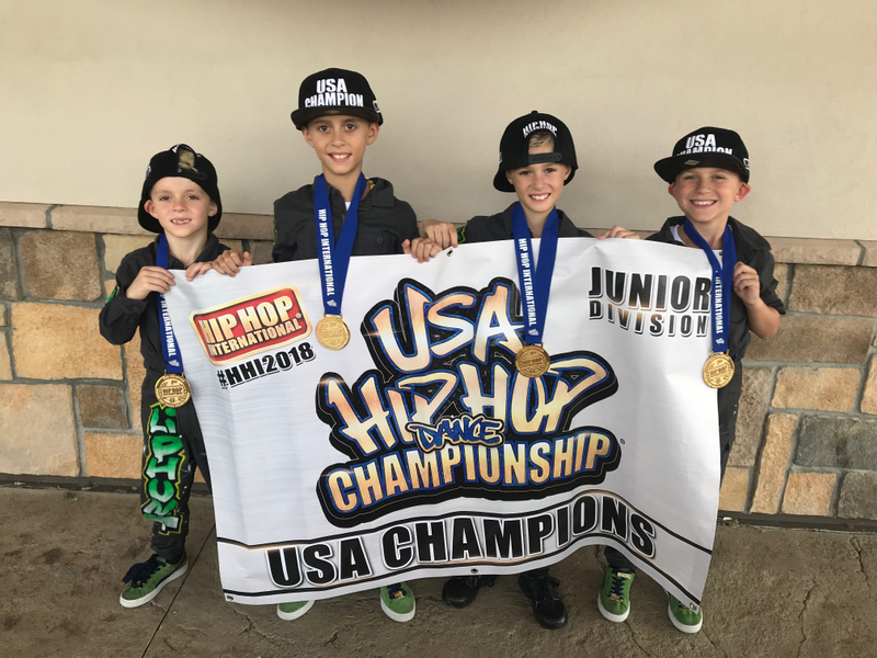 HHI USA: Graziano Brothers Bust A Move, Help 'Lil Phunk' Claim National Hip-Hop Championship