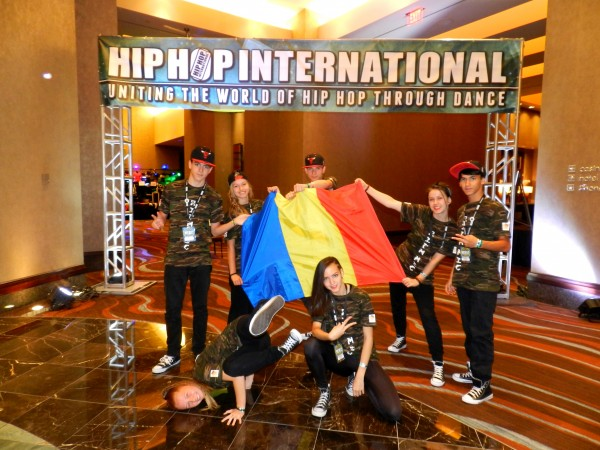 Scris de Costel Demian - La inceputul lunii august, în Las Vegas,  a avut loc o nouă ediţie a concursului Hip Hop Internaţional.