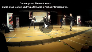 Dance group Element Youth's performance at finals