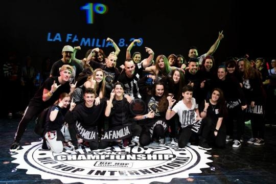 HIP HOP INTERNATIONAL 2016, IN ROME, THE QUALIFIERS FOR THE WORLD FINALS IN LAS VEGAS