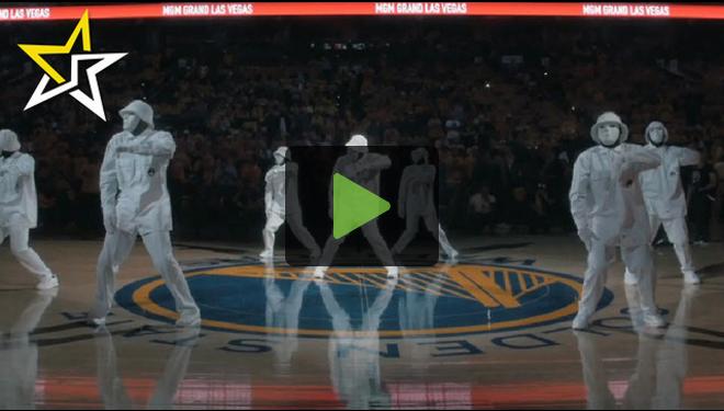 Hip-Hop Dance Crew Jabbawockeez Stuns Crowd At Halftime Of NBA Final's Game 5