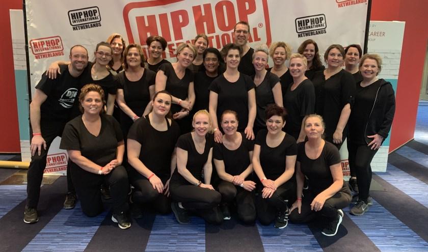 HHI NETHERLANDS: Djf Special Heroes dansen eerste wedstrijd voor mensen met beperking